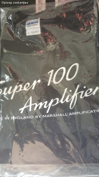 Marshall super 100 amplifier T shirt