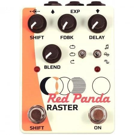 Red panda Raster usa made delay etc