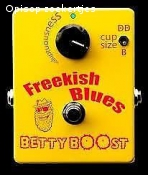 Treble booster usa made Freekish Blues Betty Boost