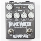Wampler Tripple wreck distortion/fuzz usa boutique
